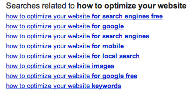 Google Related Searches: How to Optimize Your Website with Keywords