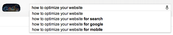 Google Suggest Example: Finding Keywords