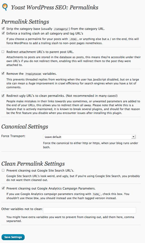 Permalinks & Canonical URLs: Guide to WordPress SEO by Yoast