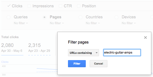 gwt-search-queries-filter-pages