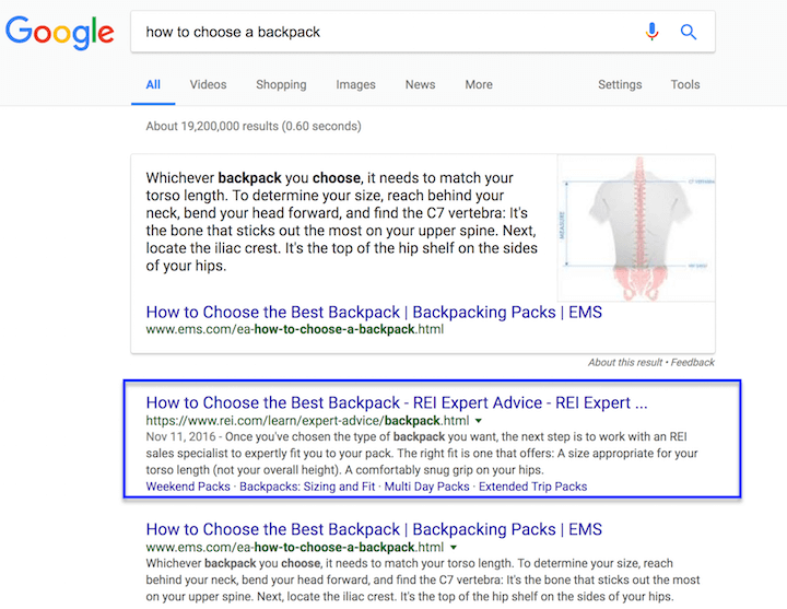 how-to-choose-backpack-google-ranking