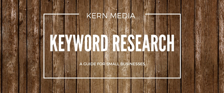 Keyword Optimization: Suggested Tools & Research